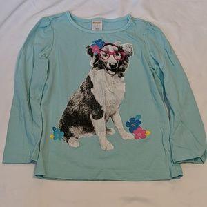 Gymboree Dog Long Sleeve Top